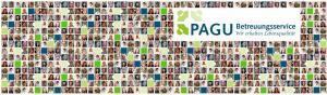 Mitarbeiter-Collage vom PAGU Betreuungsservice